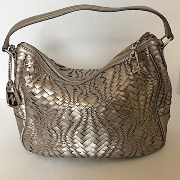 83b33929c3 Cole Haan Handbags - Cole Haan Silver Shoulder Purse